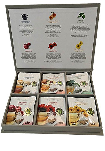 Tea Bag Sampler Gift Box Set