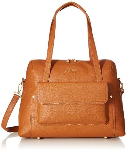 JuJuBe Wherever Weekender Vegan Leather Travel Bag, Ever Collection - Brulee