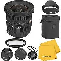 Sigma 10-20mm F3.5 EX DC CT Premium Lens Kit for Canon 70D, 7D, T3, T3i, T4i, T5i, 60D, DSLR Cameras