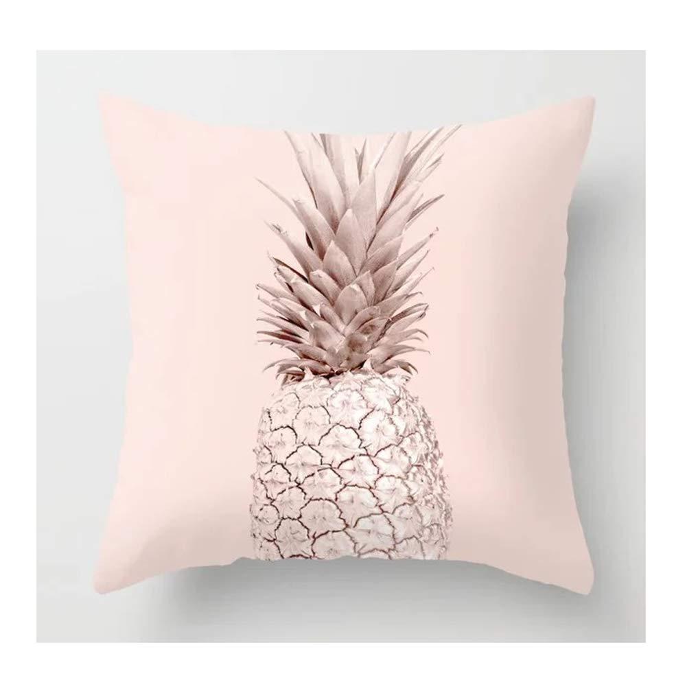 HDJX Funda de almohada simple abrazadera del viento rosa ...