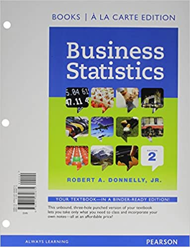Business statistics student value edition 2nd edition robert a business statistics student value edition 2nd edition 2nd edition fandeluxe Gallery