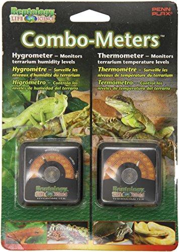 Reptology Reptile Hygrometer Humidity and Temperature Sensor Gauges