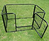 "Pawhut 4 Panel 28"" Heavy Duty Dog / Pet Exercise Playpen Yard"