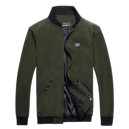 446eaf263 Amazon.com: BingYELH Big Promotion!2019 New Men Jacket,Men's Autumn ...