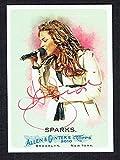 2010 allen ginter auto - Jordin Sparks #216 signed autograph auto 2010 Topps Allen & Ginter's Card