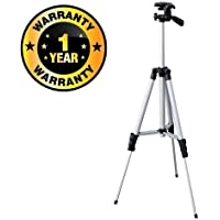Cospex Camera Tripod with Clip Holder Bracket Portable and Foldable Mobile Plastic and Metal for Xiaomi, Lenovo, Apple, Samsung (Multicolour)
