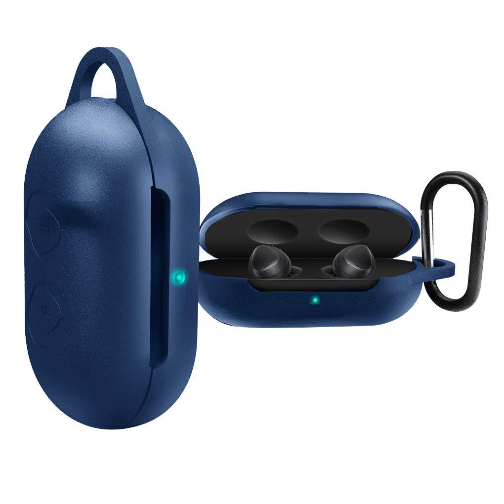 Zerama Sostituzione per Galaxy germogli Samsung Custodia in Silicone Antiurto Auricolari Copertura Auricolari Box Hanging Caso Hook