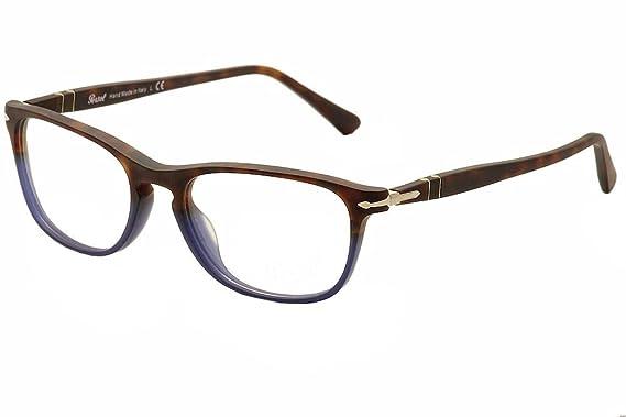 3163e9c8109a3 Eyeglasses Persol PO 3116 V 9033 TERRA E OCEANO at Amazon Men s ...