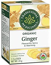 Traditional Medicinals Ginger; Helps Relieve Digestive Upset