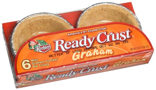 Ready Crust Grahm Mini (3-Inch) Tarts, 4-Ounce Packages (Pack of 12) (Graham Cracker Pie)