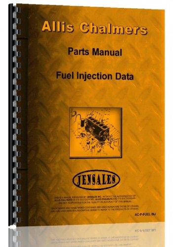 Allis Chalmers Injection Pump Parts Manual -  AC-P-FUEL INJ