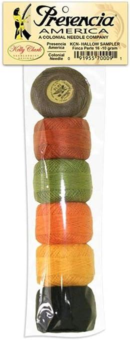 Presencia Pearle Finca hilo de algodón, algodón egipcio, tamaño 16 ...