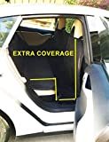 Ablehome EXTRA LARGE HEAVY DUTY PET DOG CAR SEAT COVER WATERPROOF BACK SEAT BLACK For Sale