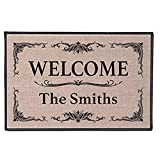 Personalized [Your Family Name] Indoor/Outdoor Doormat - Classic Design