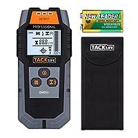 Tacklife DMS03 Ortungsgerät, Detektor, Multifunktionaler Detektor, Großere LCD-Hintergrundbeleuchtung für Magnetische/Nicht-magnetische Metall, AC-Draht, Holz-Finder, 80 mm Ortungstiefe