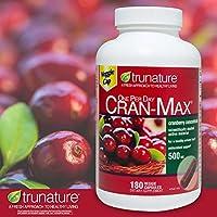 trunature Cran-MAX Cranberry 500 mg 180 Veggie Cap