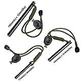 bayite-59-Inch-X-047-Inch-Drilled-Mischmetal-Rod-Flint-Fire-Starter-Soft-Version-with-Striker-Lanyard-150mmL-x-12mmDia