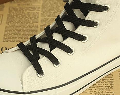 Black Butler Kuroshitsuji Anime Logo Cosplay Shoes Canvas Shoes Sneakers White and Black