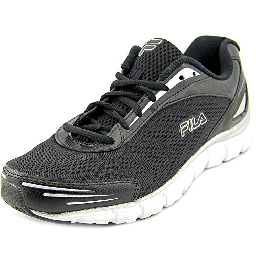 Fila-Mens-Memory-Cloak-4-Athletic-Sneakers-Black-Synthetic-Leather-Mesh-11-M