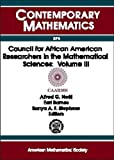 Council for African American Researchers in the Mathematical Sciences 9780821821411