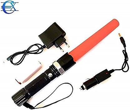 EUROXANTY® Linterna LED recargable alta potencia SOS | Alta ...