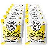 PIMP MY SALAD, Vegan Salad Toppers, and Flavor Boosters | Dairy-Free, Paleo, Gluten-Free Healthy Snacks & Toppings | Cashew Parmesan | Single Serve Packets | 12 Pack