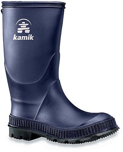 Kamik Kids Stomp Rain Boots Navy/Black Sole - Stomp Apparel