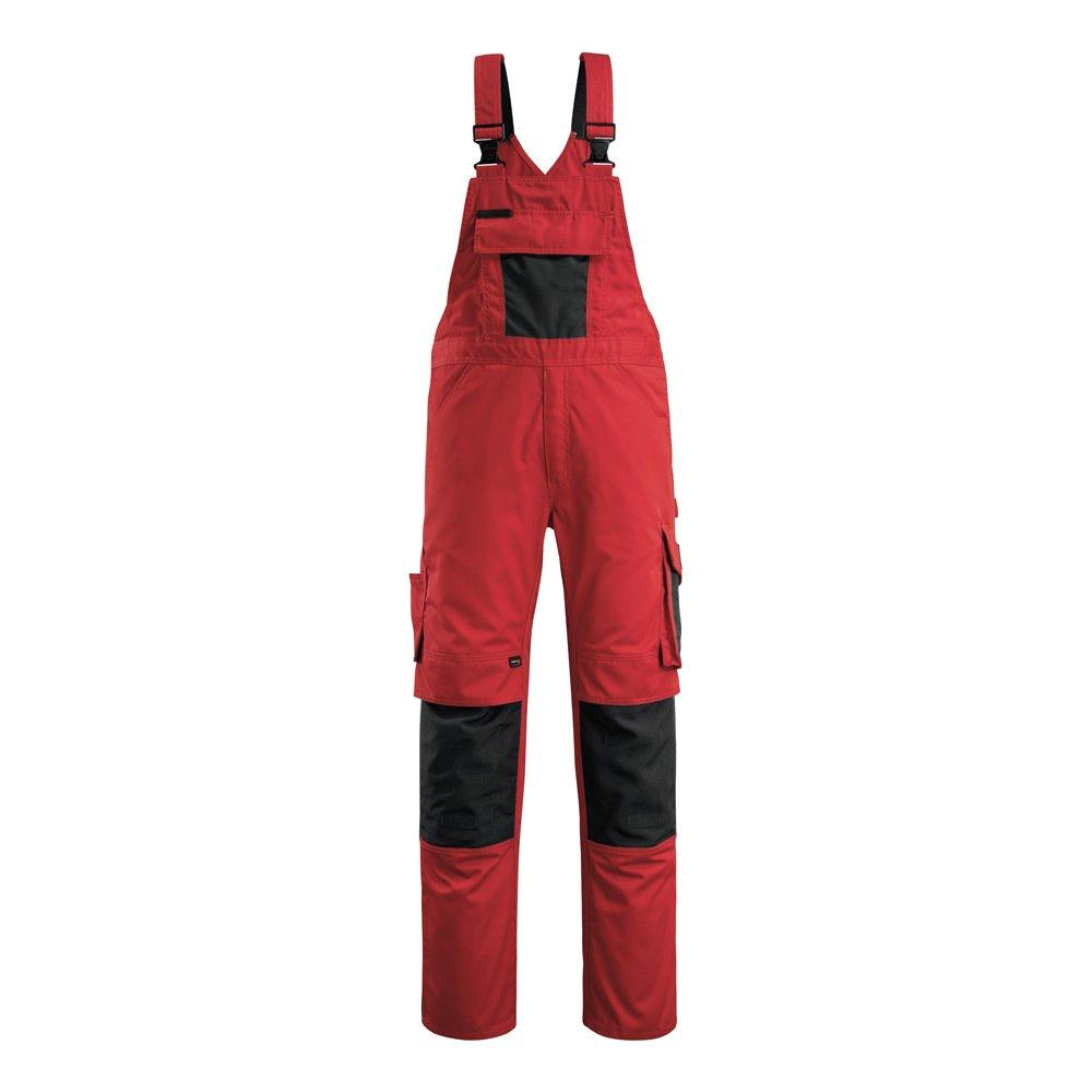 Mascot 12169-442-0209-82C60''Augsburg'' Bib & Brace, L82cm/C60, Red/black by Mascot (Image #1)