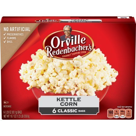 Orville Redenbacher's Kettle Corn - 6 Classic Bags of Popcorn (2)