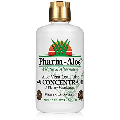 (Aloe Vera Leaf Juice 4X CONCENTRATE)