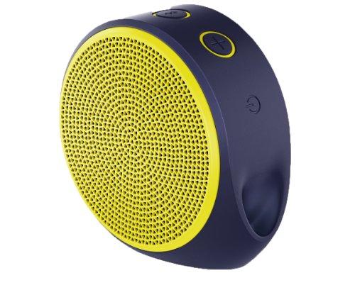 Logitech X100 Mobile Speaker yellow