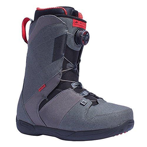 Ride Anthem Snowboard Boot 2016 - Men's Grey (Anthem Boots)