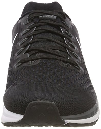 Nike Women's WMNS Air Zoom Pegasus 34 Trail Running Shoes Black (Black/White/Dark Grey/Anthracite 001) tmlvQV