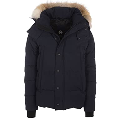 31e2b90e3ea Image Unavailable. Image not available for. Colour: Canada Goose Mens Wyndham  Parka In Blue