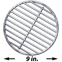 Stainless High Heat Charcoal Fire Grate Upgrade for Large Big Green Egg Grill
