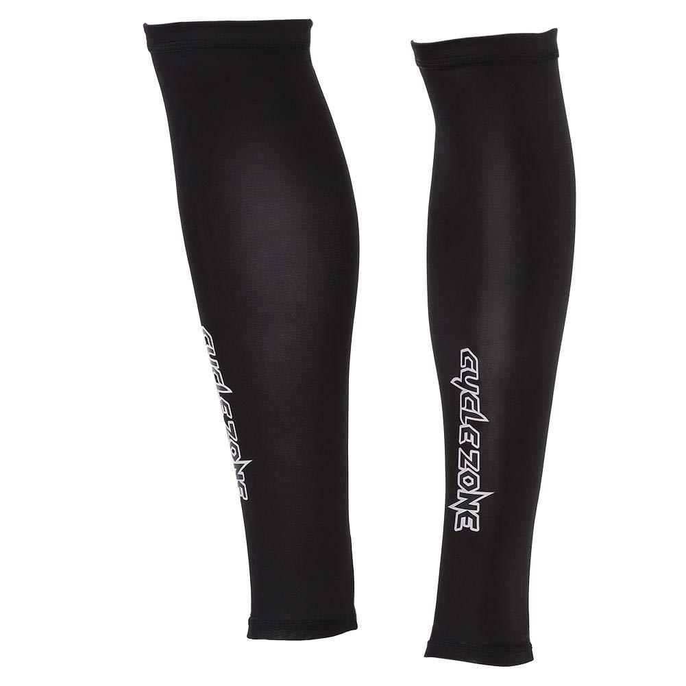 Cyclisme,etc. VGEBY1 1 Paire Manchons de Compression Manchons de Jambe,Protection Anti-UV du Genou Unisexe pour lAlpinisme,R/écup/ération Sports