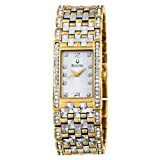 Bulova Men's 98A62 Crystal Bracelet Watch, Watch Central