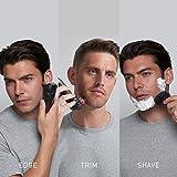 Panasonic Hybrid Wet Dry Shaver, Trimmer & Detailer with Two Adjustable Trim Attachments, Pop-up Precision Detail Trimmer & Shave Sensor Technology – Cordless Razor for Men - ES-LL41-K
