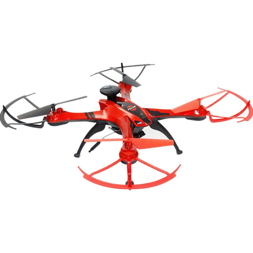 Dreamyth New FX176 2MP Wifi FPV 1080P Camera 2.4G 6-Axis LED Altitude Hold RC GPS Video UAV Practical (Red) by Dreamyth