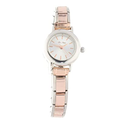 La CIMA Rose Gold Charm Watch - Compatible with Nomination Charms   Amazon.co.uk  Jewellery 8d83dd4e0e