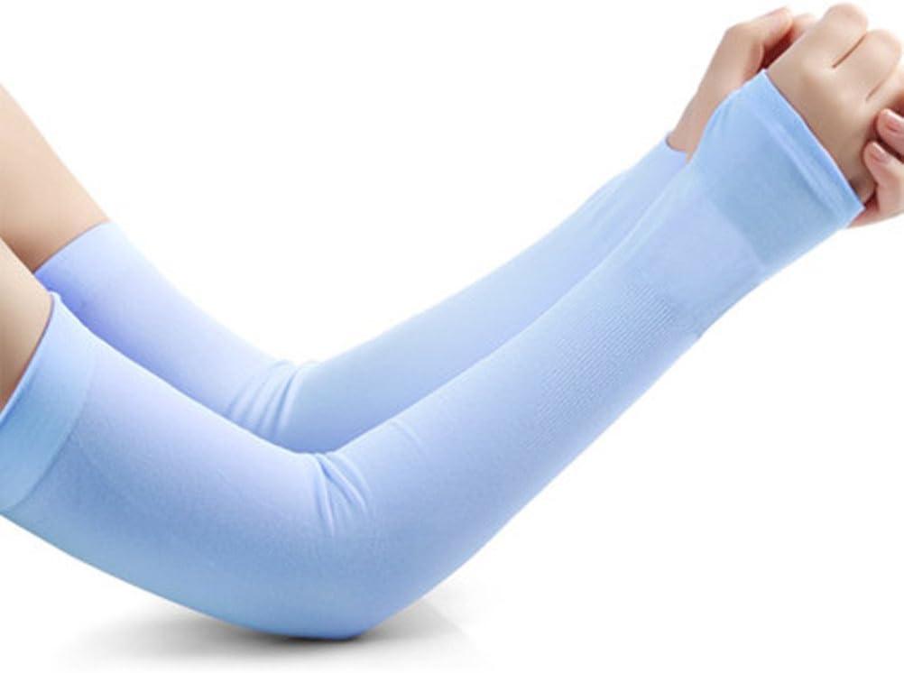 Unisex im Freien UV Sonnenschutz Atmungsaktive Arm wärmer Ärmel Abdeckungen