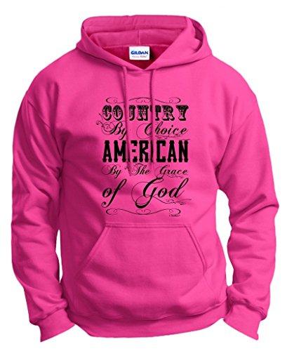 Country Choice American Hoodie Sweatshirt