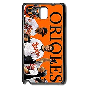 Baltimore Orioles Scratch Case Cover For Samsung Note 3 - Skin