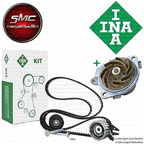 Kit distribución Ina + Bomba Agua VW Polo (9 a4) 1.4 Seat Leon Ibiza III GOLF IV VW Lupo: Amazon.es: Coche y moto
