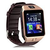 Seetwo DZ09 Bluetooth Wrist Smart Watch GSM For Android/IOS Samsung iPhone HTC Phone Mate (Gold)