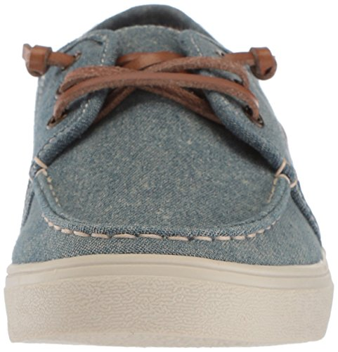 The Children's Place Boys' BB Laceup Street Slipper, Chambray, Youth 12 Medium US Infant - Image 4