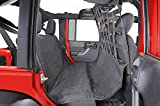 Dirty Dog 2007-2018 Jeep Wrangler JK Unlimited Pet Divider Behind Front And Rear Seats Saver in one Only Black J4PD07FSBK