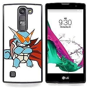 "Qstar Arte & diseño plástico duro Fundas Cover Cubre Hard Case Cover para LG G4c Curve H522Y ( G4 MINI , NOT FOR LG G4 ) (Tortuga de Poke Monster"")"