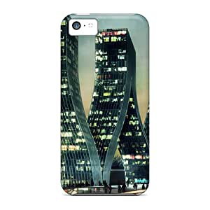 New Arrival Cases Specially Design For Iphone 5c (greatest Bending Skyscrapers)