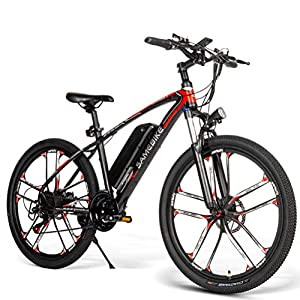 51Eogh1c2cL. SS300 Befily Bici Elettrica Elettrica Ricaricabile 36V 8Ah Mountain Bike 36V 8Ah in Acciaio al Carbonio Ad Alto Tenore di…